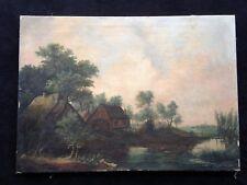 Juriaen Marinus van Beek 1879-1965 - Wassermühle in holländischer Landschaft