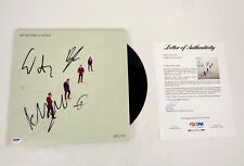 Mumford And Sons Full Band Signed Autograph Delta Vinyl Record Album PSA/DNA COA