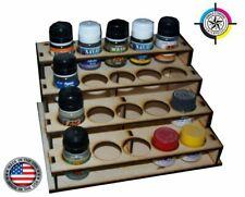 Wood Paint Bottle Rack Organizer for Badger Paint - 20 Bottle Version