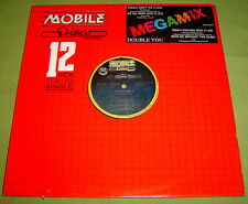 "PHILIPPINES:DOUBLE YOU - MEGAMIX - With Or Without You (U2 Cover) 12"" EP/LP,U2"