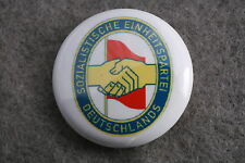 """East Germany German Socialist Unity Party SED Communist Pin Badge Button New 1"""""""