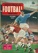 CHARLES BUCHAN'S FOOTBALL MONTHLY ~ OCTOBER 1957 ~SHEFFIELD UNITED / WEDNESDAY