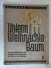 piano UNTERM WEIHNACHTSBAUM christmas album