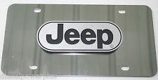 Jeep Wrangler cj5 willie SUV license plate tag logo emblem 3D pickup truck Car