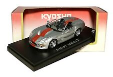 Shelby Series 1 in Silber / Rot 1:43 Kyosho 03131SR NEU & OVP
