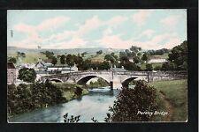L@@K  Pateley Bridge 1905 Postcard Yorkshire ~ NICE IMAGE ~ LOVELY COLOURS