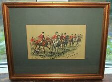 "Original Watercolour George Finch Mason ""That's it sir Charles, c'm'n Dammymmd"""