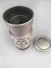 Rare Leica Summicron 90mm f2 lens M mount Great condition UVa Leitz filter