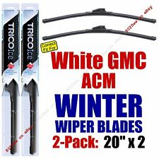 WINTER Wiper Blades 2pk Premium fit 1988-1992 White GMC ACM - 35200x2