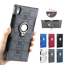 For Sony Xperial L1 XA1 Ultra XZ1 Ring Holder Stand Car Holder Phone Case Cover