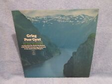 GREIG- PEER GYNT CLASSICAL MUSIC LP RECORD;  SIR JOHN BARBIROLLI; IBSEN'S DRAMA