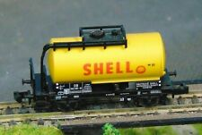 SHELL tank wagon    by MINITRIX     N Gauge   (6)