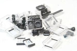 LOT of Go-Pro camera parts and 1 Go-Pro camera N5466