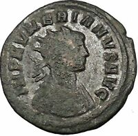 Numerian receiving globe  from Jupiter 283AD Rare Ancient Roman Coin i52718