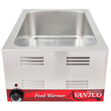 "Avantco W50 12"" x 20"" Electric Countertop Food Warmer - 120V, 1200W"