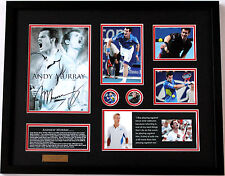 New Andy Murray Signed Limited Edition Memorabilia
