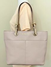 Michael Kors Bedford Medium Soft Pink Pebbled Leather Pocket Tote