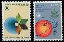 Nations Unies - Geneve postfris 1982 MNH 105-106 - Onze Natuur