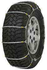 235/75-15 235/75R15 Cobra Jr Cable Tire Chains Snow Traction SUV Light Truck Ice