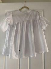 Asos White Pelpum Blouse Oversize Style Cute Wih Defect Size 2