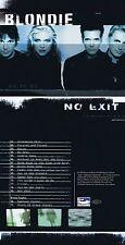 "Blondie ""No exit"" 15 Songs + 2 Bonustracks, darunter ""Heart of glass""! Neue CD!"