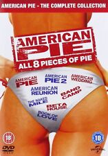 AMERICAN PIE Complete Films Collection 1 2 3 4 5 6 7 8 Box Set NEW DVD