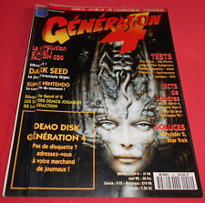 Magazine Génération 4 [ n°44 Mai 92] Amiga Atari ST PC Falcon 030 Dark Seed *JRF