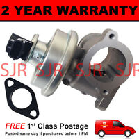 FOR FORD TRANSIT JAGUAR X-TYPE MONDEO EGR VALVE WITH 3 PIN CONNECTOR
