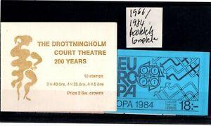 Sweden - 1966/1984 Booklets complete