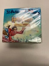 HARRY POTTER TRADING CARD GAME QUIDDITCH CUP BOOSTER BOX tcg 2001 WOTC OPENED