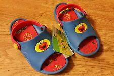 New size 9/10 Sesame Street Elmo toddler blue sandals