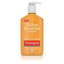 Neutrogena Oil-Free Acne Fighting Face Wash with Salicylic Acid, 9.1 ounces