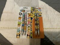 NEW DESPICABLE ME 3 & DISNEY TSUM TSUM 2 PACK INK PENS