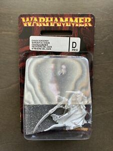 New Sealed Warhammer Fantasy Chaos Sorcerer Blister Out Of Print Rare D PR10