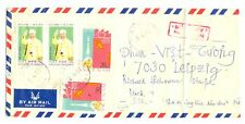 VIETNAM 1975 =COVER VIETCONG TO GERMANY DDR FINE