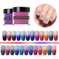 NICOLE DIARY 10g Thermal Dipping Powder Color Changing Nail Art No UV Lamp Cure