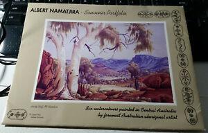 Albert Namatjira Souvenir Portfolio, Six Watercolour Prints, Legend Press