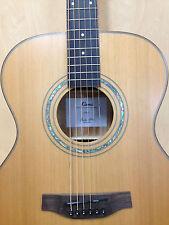 Klema K200JC Solid Cedar Top,Jumbo Acoustic Guitar,Natural Matt +Free Gig Bag