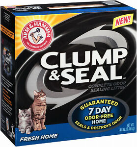 02142 Cat Litter, Fresh Home Clump & Seal, 14-Lbs. - Quantity 1