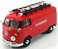 VW T1 van with ladders, Feuerwehr. 1/24 Motormax Model