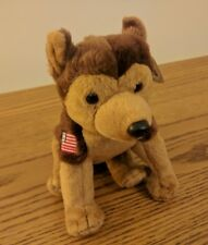 TY Beanie Babies Collectable - USA Special COURAGE Dog with Tag
