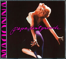 Madonna Papa Don't Preach - Remixes (2016) CD