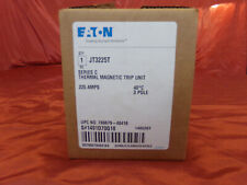 New , Eaton Circuit Breaker Trip Unit Jt3225T 225A Amp 3-Pole Series C