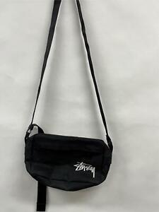 STUSSY Black Shoulder Bag RRP $69