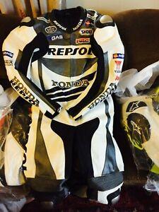 motorbike leather gear riding suit race suit for bikers motogp suit ce approved