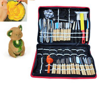 80PCS Kitchen Culinary Carving Tools Set for Fruit Veg Carving Chisel Peeling