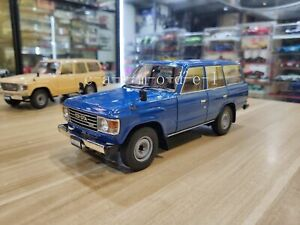 1/18 1:18 Scale KYOSHO Toyota Land Cruiser LC60 Metal Diecast Car Model Blue