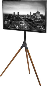 VIVO Artistic Easel 45 to 65 inch LED LCD Screen, Studio TV Display Stand, TV