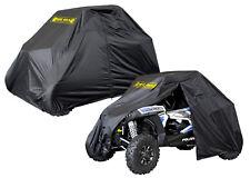 Universal SxS 4 Seat UTV Cover w Side Zipper Nelson Rigg Defender Black New
