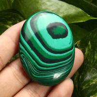 Palm Tumbled Stones Malachite Quartz Crystal Healing Soap Shape Massage